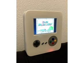 Handheld game console with Raspberry PI and Retropie