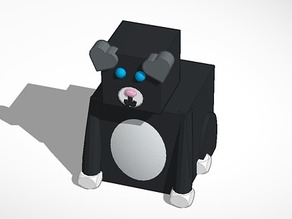 3d Block Zoo Puppy