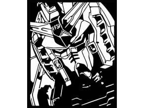 Gundam stencil 1
