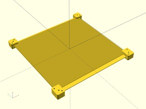 Ekobots - Table Fix and Join for Mendel Prusa.