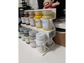 Paint Bottle Holders (for Hand Made Modern 2 fl oz Acrylics from Target)