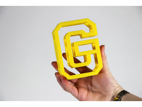 BEAM 3D printable Typeface