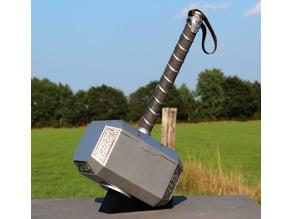 Thor Hammer Mjolnir Stand