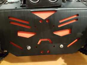 Drone Hunting Robot Faceplate and Receiver Holder