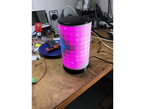 WS2812 Matrix-Lamp