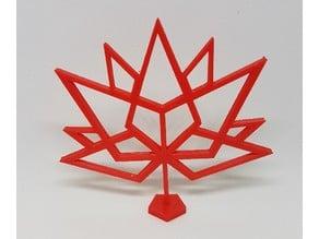 Canada 150 Logo Stand