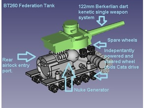 BT 260 Federation Tank
