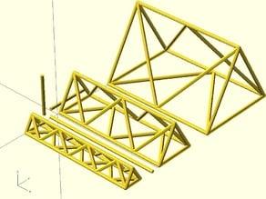 Parametric Space Truss