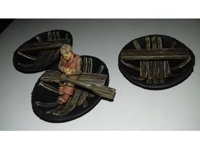 28mm Scale Coracle