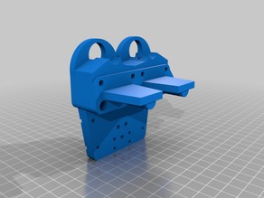 Direct Drive Chimera/Cyclops Extruder for Prusa i3 - Flexible filament ready