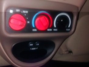 Temperature control knob ford