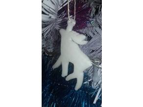 Reindeer of the santa claus