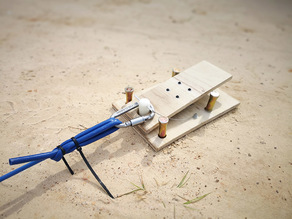 RC Bunjee Launch Foot Release Pedal System