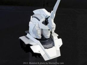 open source:1/48 gundam unicorn bust