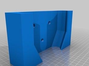 Wall mount bracket for Kobalt 80-volt Max lithium ion 630-CFM brushless leaf blower