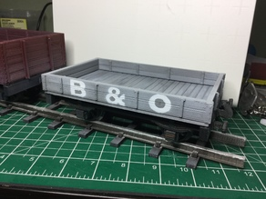 2 Plank Open Wagon for 16mm Scale Garden Railway