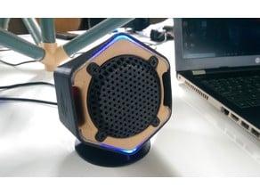 Hex shape Desktop Speaker box