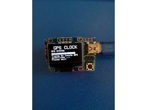arduino neo-6m gps clock