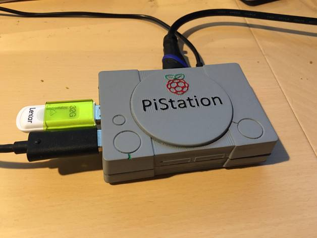 PiStation - Raspberry Pi 2/3 Case by jhample - Thingiverse