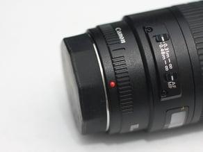 Rear Lens Cap - Canon EF Mount