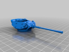 M17 Achillies 28mm Scaled for Bolt Action Resin M10 hull