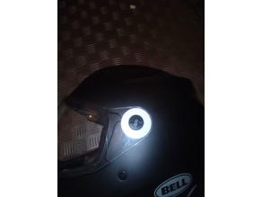 visor pivot cover - Bell MX-9 adventure