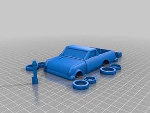 Mini El Camino Mad Max Car