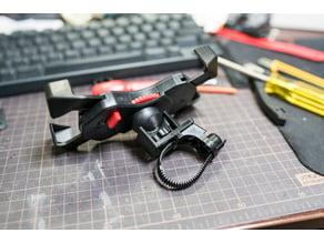 Smartphone mount converter for Aero handlebar