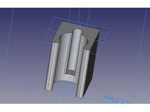 DS18B20 heating pipe bracket