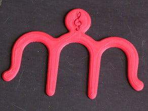 Music Book Clip