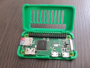Raspberry PI Zero case GPIO and cam