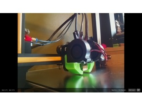 extended cr-10 x-axis camera mount for good FOV