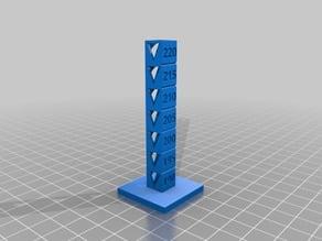 My Customized Temp Calibration Tower