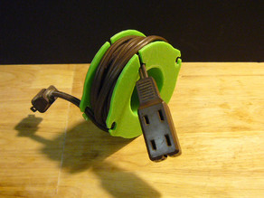 Extension cord spool