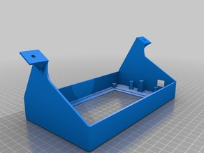 PanelDue 7 inch Tilted Mount for Anycubic Kossel