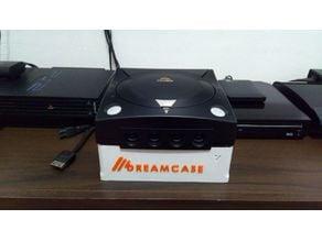 Dreamcase for Sega Dreamcast  ( use mod g1ata and dreampi)