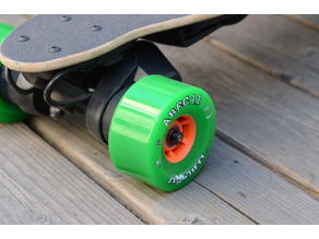 Abec 11 97mm Wheel Hack for Boosted Board V2