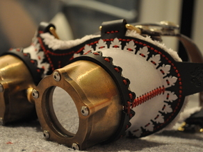 Steampunk Couture: CNC Goggles