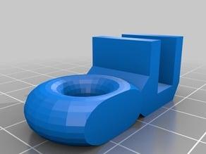 Prusa i3/ Anet A8 filament guide