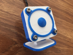 An Entirely 3D Printed Speaker