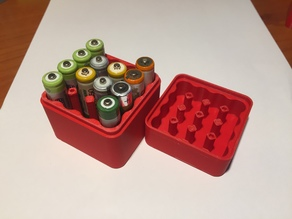 Box Battery AAA x16pz V2