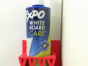 Dry Erase Cleaning Liquid Holder