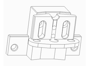 BL-Touch Holder Unicubic U1