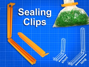 Sealing Clips for bags - Clamp - Sealer - Kitchen
