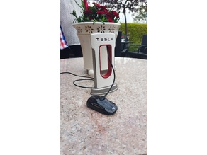 Tesla charger for USB-C Type phones.