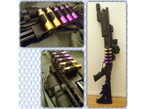 DIY Side Saddle for Airsoft PPS M870