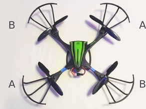 Quadcopter Propeller - Optimal Thrust - 14cm