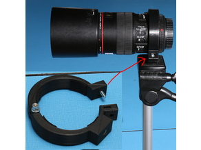Tripod mount ring for Canon 100mm macro