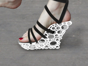 Holey Wedge heels sandals