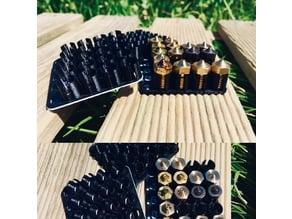 Minimalistic Nozzle Tray / Holder